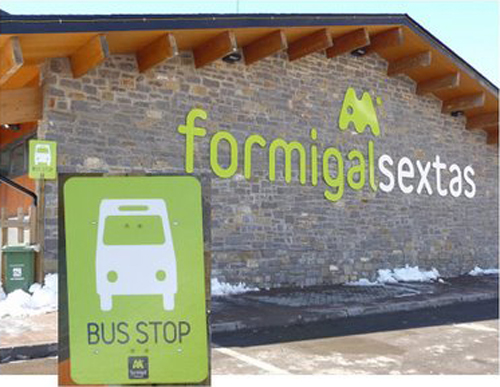 formigal sextas bus stop